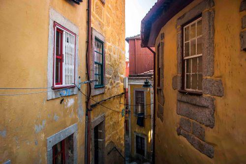 Casas do barrio do Barredo